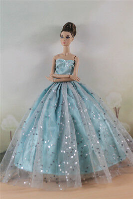 Fashion Party Dress//Wedding Clothes//Gown For 11 in Doll d19