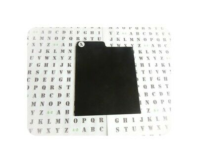 Filotrax CD DIVIDERS [BLACK A-Z Kit] to file your collection