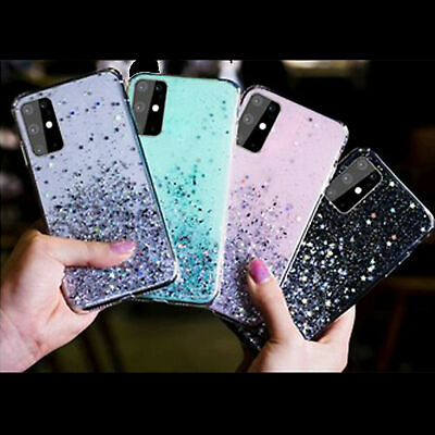 Luxury Protective Bling Glitter Silicone Soft Case Cover For Huawei P20 P Smart