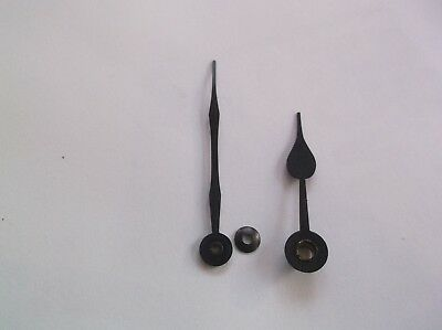 Pair Of Steel Hands From An Old Enfield Mantle Clock  Ref Vic 2