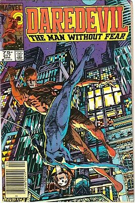 Daredevil #217 NM (9.4) 1985 Canadian Price Variant! 1st Appearance of COSSACK!