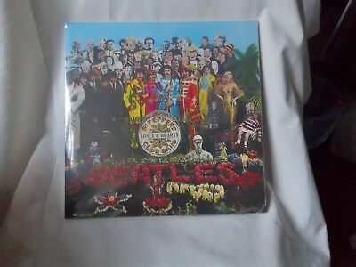 The Beatles Sgt Peppers Lonely Hearts Album Unplayed Sealed Mint New Remastered