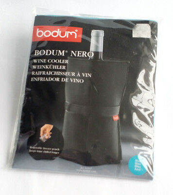 19fc0a571a BODUM NERO WINE Cooler With Gel Bags Red New Free P&P - £5.99 ...