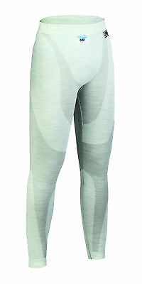 OMP One FIA Nomex Long Johns White Lightweight Race / Rally