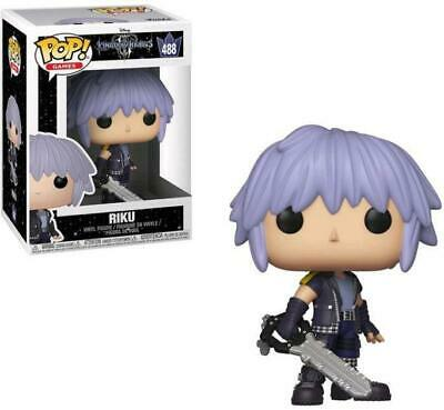 Funko Pop Kingdom Hearts 3 Riku 488  9 Cm Figure Disney Videogame Iii Statua #1