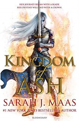 Maas Sarah J.-Kingdom Of Ash (UK IMPORT) BOOK NEW