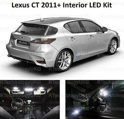 Premium Lexus Ct 2011+  Interior Led Light Kit Xenon White Bulbs Ct200H