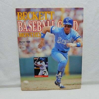 Kevin Seitzer Cover Beckett Baseball Card Price Guide Sept