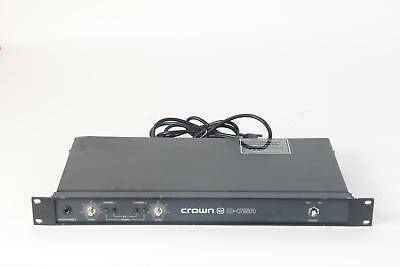 Crown D-75A 2 Channel Pro Dual Channel Power Amplifier - Missing Knob Covers