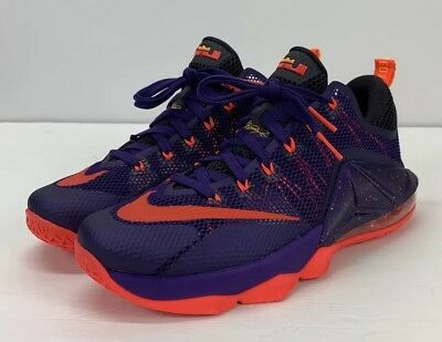 the best attitude 440e5 a0e7c Nike Lebron XII Low Multicolor 724557-565 MENS Size 9.5 - NEW!