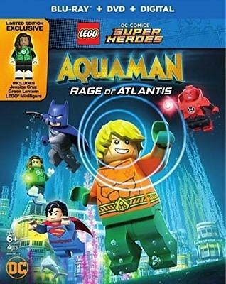 LEGO DC Super Heroes: Aquaman Rage of Atlantis Bluray Disc 2018 Mini Figure