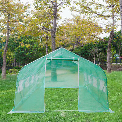 Greenhouse 20'x10'x7' Large Portable Walk-in Hot Green House Plant Gardening New