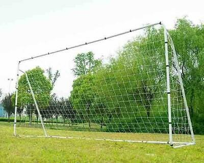 Soccer Goal 12' x 6' Football W/Net Clips, Anchor Ball Training Sets sports New