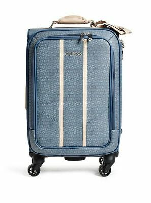 """GUESS NWT 4 Wheel 20"""" Roller Spinner Suitcase Travel Luggage"""