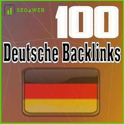 100 Deutsche Backlinks SEO Homepage manueller Linkaufbau HIGH DA DoFollow