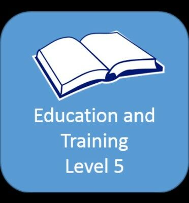 level 5 diploma, Nvq , leadership and management. 15 Complete signed off units