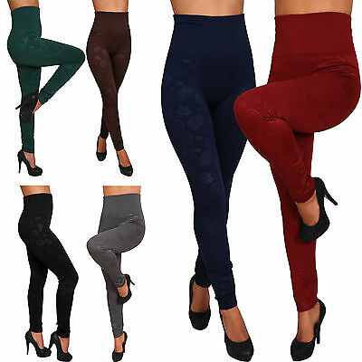 Treggings Termo Pantaloni Jeans Jeggings Tubo High Waist LEGGINGS STRETCH stelle