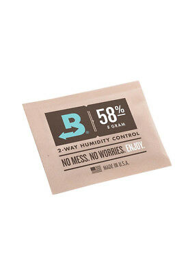 Boveda Packs 58% Hygro Befeuchter Luftfeuchtigkeit Humidor Curing Grow TOP