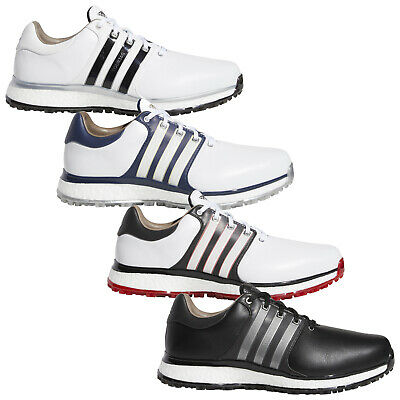 2019 Adidas Mens Tour360 XT-SL Spikeless Boost Golf Shoes New Waterproof Leather