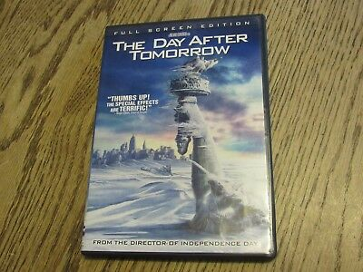 The Day After Tomorrow DVD, Full Screen Edition (O - #25)