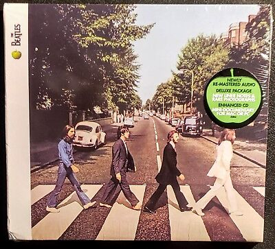 "The Beatles - Abbey Road  - Remastered CD - TRI-FOLD SLEEVE -  "" NEW, SEALED"""