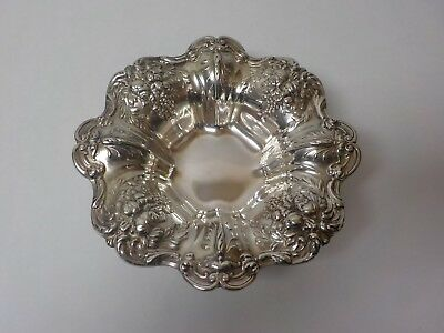 "Reed & Barton Sterling Silver FRANCIS I 8"" Footed Bowl #X569F, 320 grams"