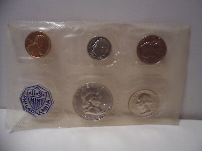 1957 United States Mint Proof Set W/ Original Packaging 90% Silver Coins