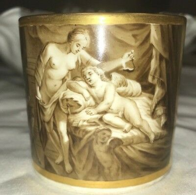 Very Rare Original Vienna Porcelain Factory Cup Early 1800's