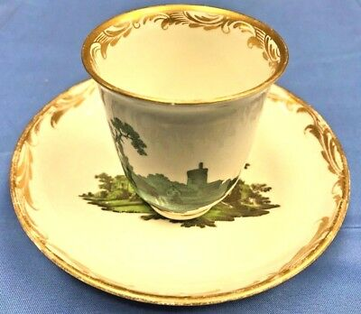 Original Vienna Cup and Saucer Late 1700's