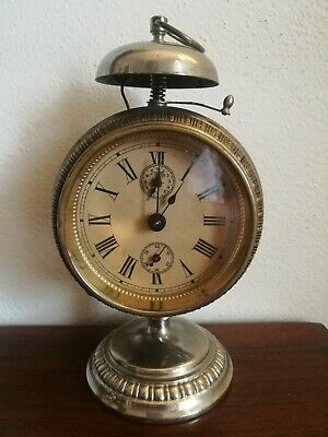 Antico Orologio Sveglia Liberty Deco - Antique alarm clock- wecker antik- reveil