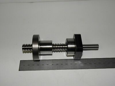Rexroth Z-Axis Ball Screw R151301023 with THK Support bearings