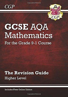 CGP GCSE Maths AQA Revision Guide: Higher - for the Grade 9-1 Course with Online