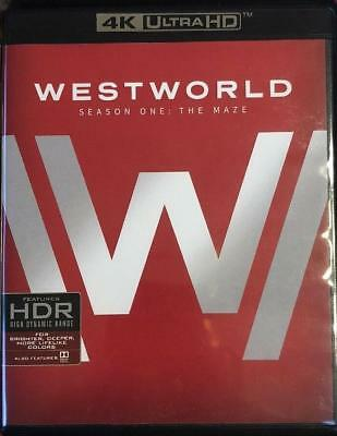 Westworld The Complete First 1st Season (4K Ultra HDBlu-ray 2017) NEW