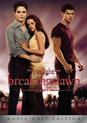 Twilight Saga, The: Breaking Dawn Part 1 (DVD, 2011, Movie Only Edition) NEW