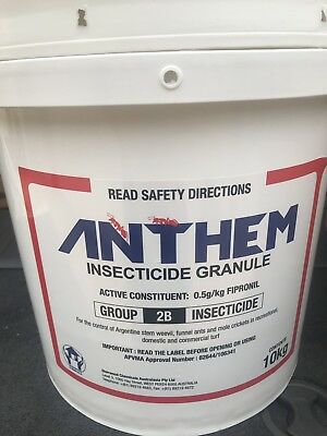 Anthem 0.5g/kg FIPRONIL GRANULAR ANT KILLER 10-Kg Double Strength