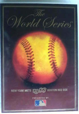 The World Series 1986 dvd MLB New York Mets Boston Red Sox