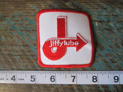 New Jiffy Lube Lubrication Technician Racing Patch Red Scca Nascar Indy Gt
