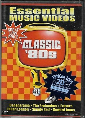 Essential Music Videos - Classic 80s (DVD, 2004) Brand New Sealed OOP Rare