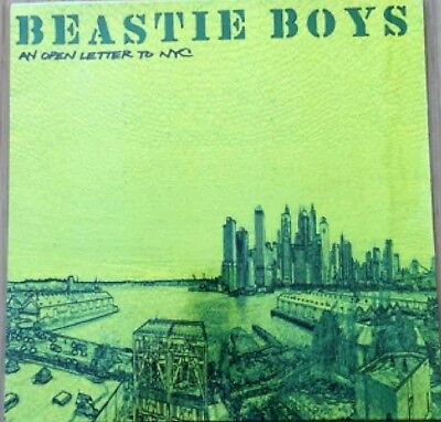 """Beastie Boys An Open Letter To NYC 12"""" Viny SEALED/NEW 12CL 867"""