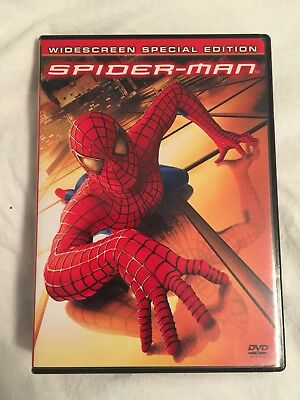 Spider-Man (DVD, 2002, 2-Disc Set, Special Edition Widescreen) (USED)