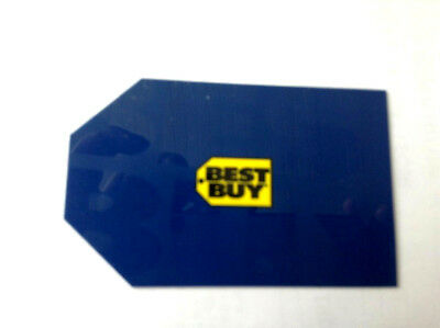 BEST BUY DIECUT BLUE Gift Card COLLECTIBLE NO VALUE UNSCRATCHED