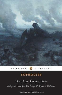 The Three Theban Plays (Penguin Classics), Very Good Condition Book, Sophocles,
