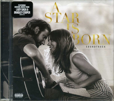 A Star is Born CD Soundtrack Explicit Lady Gaga Bradley Cooper Brand New Sealed