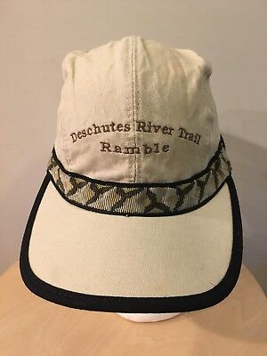 4808efabcaa KAVU Canvas Hat CAMPING HIKING 4 Panel Cap MADE IN USA Seattle Sz Small S