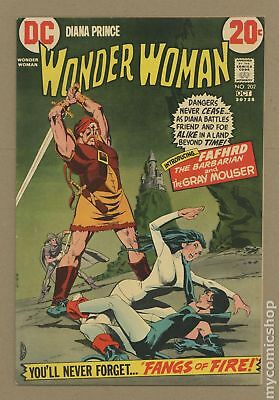 Wonder Woman (1st Series DC) #202 1972 VG/FN 5.0