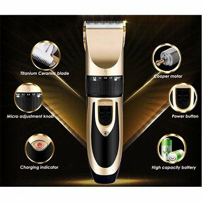 Low-Noise Grooming Kit Hair Trimmer Electric Pet Hair Clipper Shaver For Dog