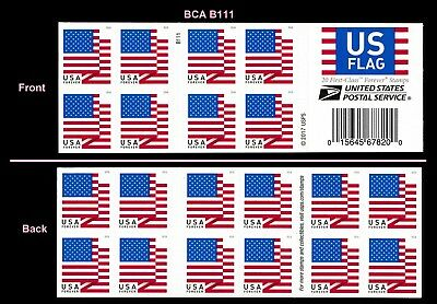 US 5263a Flag forever booklet 20 BCA B111 MNH 2018