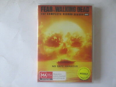 Fear of The Walking Dead The Complete Second Season 2 DVD 4-Disc Set R4 #6041