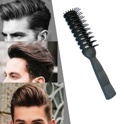 Anti-static Plastic Hair Comb Curler Brush Men Hairdressing Styling Comb #AM8