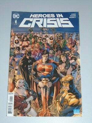 Heroes In Crisis #1 Dc Comics November 2018